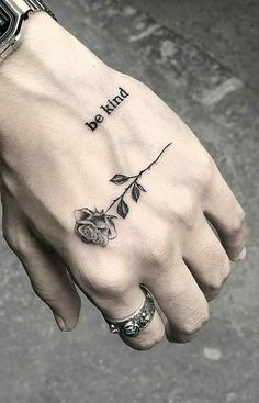 mini tattoos with meaning . mini tattoos for girls with meaning . mini tattoos for women Tiny Finger Tattoos, Small Hand Tattoos, Hand Tattoos For Guys, Mini Tattoos, Mens Hand Tattoos, Tatoos Men, Rose Tattoos For Men, Tattoo Finger, White Tattoos