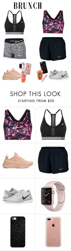 """Sporty brunch style"" by audrey-balt on Polyvore featuring NIKE, Belkin and AERIN"