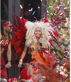 It's getting hot in here! With summer in full swing, Nicki Minaj made her way back to herbirth landof Trinidad to shoot her new music video POUND THE ALARM.