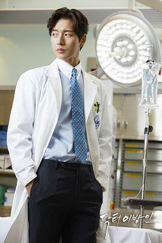 Park Hae Jin Doctor Stranger Looks so good in a doctor coat!