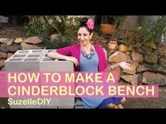 How To Make A Cinder Block Bench In 6 Easy Steps!