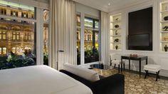 Erfinden Sie Ihren Aufenthalt neu in den jüngst geschaffenen Grand Deluxe Zimmern. Auf bis zu 45 m² im neu interpretierten Art Deco Stil.