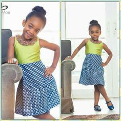 Lovely African Print Dresses, African Wear, African Dress, African Kids, African Prints, African Inspired Fashion, African Print Fashion, Cute Little Girls Outfits, Kids Outfits