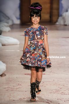 ALALOSHA: VOGUE ENFANTS: Lilica Ripilica SS'15