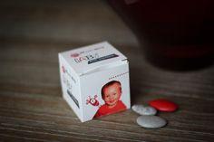 Cube carton imprimé personnalisé Format 5x5x5cm
