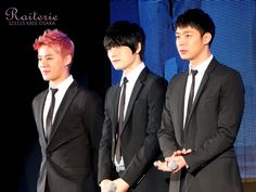 JYJ at KBEE 2012 Opening Ceremony in Osaka