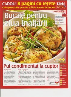 Slideshow search results for retete Baked Potato, Turkey, Chicken, Meat, Baking, Ethnic Recipes, Pdf, Search, Food