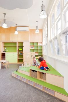 Fröbel Early Learning Centre in Fitzroy North by Steffen Welsch Architects / photography by Shannon McGrath