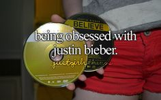 """I wouldn't use the word """"obession"""", honestly..but yeah, I do like him. :)"""