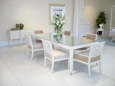 INSPIRATION // Dining Room // Rosenau Collection in Fabre Finish
