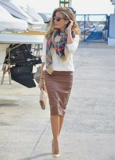 Pencil skirt — win-win! (6 images) | GNOSTON — fashion, style and beauty!