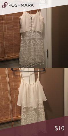 Spaghetti strap cute white dress Cute summer white dress American Eagle Outfitters Dresses Mini