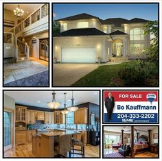 Luxury Home in Winnipeg. Over 3200 sq f. Luxury Home in Winnipeg. Over 3200 sq ft 4 BR baths beautiful wood craftsmanship thruout this custom built home in Royalwood. Custom Built Homes, Baths, Wood Crafts, Luxury Homes, Real Estate, Mansions, House Styles, Building, Beautiful