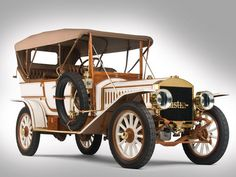 Such a wonderfully lovely 1909 Austin Model 60 Touring. #vintage #Edwardian #cars