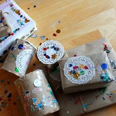 Decorated Christmas Packages