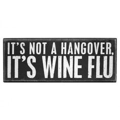 Hangover or flu - I know you're a lucky bleeper who doesn't get hangovers, but this was funny lol