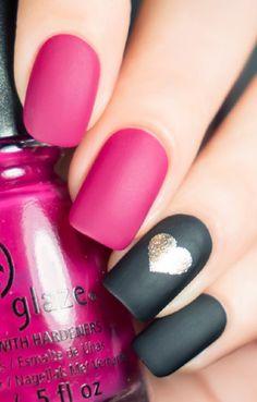 20 Edgy Valentine's Day Nail Designs To Valentine's Weekend