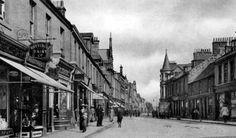 Old photograph of Alloa, Scotland