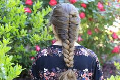 Faux French Braid