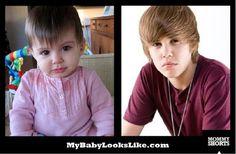 Hilarious website...My baby looks like...? :)