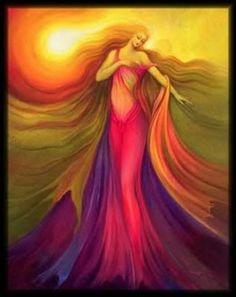 Wuriupranili... Australian Aboriginal Solar Goddess.