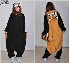 Unisex-Adult-Pajamas-Kigurumi-Cosplay-Costume-Animal-Onesie-Sleepwear-Dress