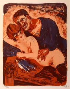 Otto Dix - Sailor & Prostitute