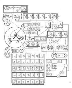 Chris Ware - Narrative Diagram for Quimby - The Acme Novelty Library