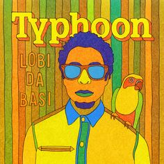 Typhoon Loba Da Basi CD Hoes Music Clips, Rap Music, Music Albums, Vinyl Record Shop, Vinyl Records, Best Song Ever, Best Songs, Vinyl Cover, Cd Cover