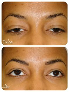BEFORE & AFTER - Hairstroke Eyebrows