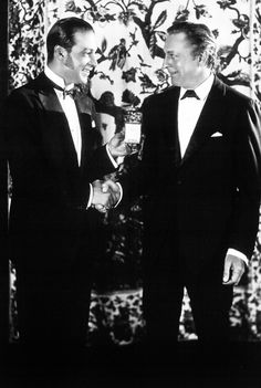 Rudolph Valentino and John Barrymore, 1920s                                                                                                                                                                                 More