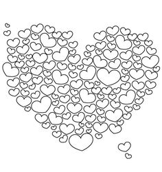 How To Find Online Printable Coloring Pages Special Heart Page