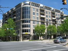 Gateway Plaza Condos in Uptown Charlotte.  This development is located in 4th ward.