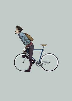 Bike riding illustration 52 Ideas for 2019 Fixi Bike, Bicycle Art, Hipster Vintage, Velo Vintage, Bici Retro, Whatsapp Logo, Bicycle Illustration, Bike Sketch, Bike Poster