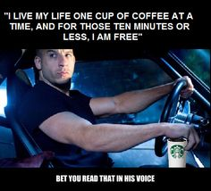 Fast and the Furious coffee
