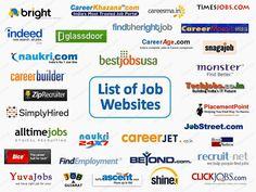 These are the best job search engines where you can get your desire job. These site have a ton of database . Check out for the job you best fin in.