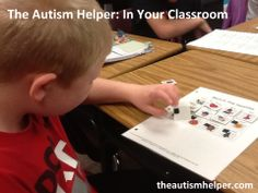 Check out how another teacher uses The Autism Helper's Calendar Matching Pages! by theautismhelper.com