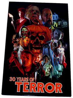 Halloween Michael Myers 30 Years Of Terror by CustomCreations2U, $17.99 Best Horror Movies, Horror Movie Characters, Classic Horror Movies, Horror Films, Scary Movies, Horror Art, Real Horror, Halloween Film, Halloween Horror