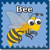 http://ateachingmommy.com/2012/05/free-bee-printables/