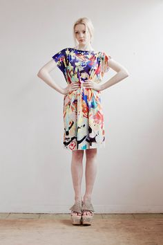 Summer Sale Dancing Dress in Silk Jersey by SLCSLC on Etsy, £150.00