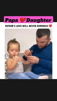 Cute Funny Baby Videos, Crazy Funny Videos, Cute Funny Babies, Funny Videos For Kids, Funny Kids, Love My Parents Quotes, Father Daughter Quotes, Cute Baby Quotes, Cute Romantic Quotes