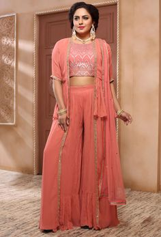 At Nikvik, we have a #huge #collection of the #Readymade #Salwar Kameez suits in a variety of styles.  #Nikvik is the #bestseller of Readymade Salwar #Kameez #suit in #USA #AUSTRALIA #CANADA #UAE #UK Readymade Salwar Kameez, Salwar Kameez Online, Churidar, Palazzo Dress, Palazzo Suit, Pink Fashion, Fashion Pants, Anarkali, Lehenga