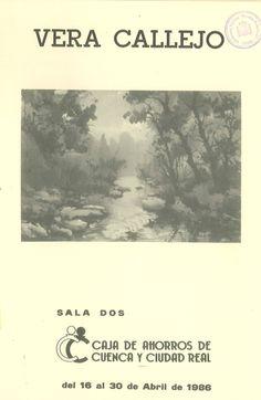 Acuarelas de la pintora Vera Callejo en la Caja de Ahorros de Cuenca y Ciudad Real Abril 1986 #CajaAhorrosCuenca #Cuenca #VeraCallejo