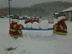 EMS snowmen