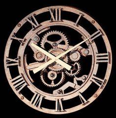 Old Gear Wall Clock