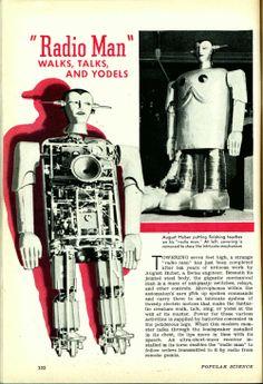 Yodeling Robot (1939)