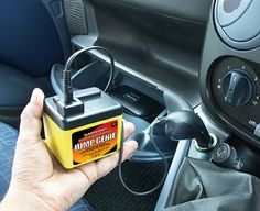 Expert Verdict Jump Genie If your car battery power runs low in cold weather, let Jump Genie come to the rescue. Simply plug this little device into your 12V cigarette lighter socket, wait while it transfers its charge to your http://www.MightGet.com/january-2017-11/expert-verdict-jump-genie.asp