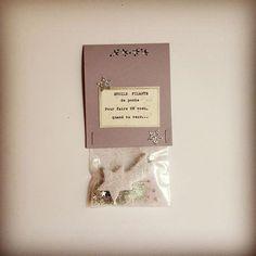 Sachet magique contenant une ETOILE FILANTE de Poche pour réaliser tes vœux quand tu veux : Autres art par graine-de-carrosse-42511