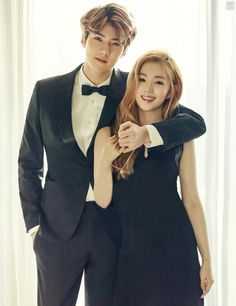 EXO's Sehun and Red Velvet's Irene Participate in Charity Pictorial to Help Children in Need Exo Red Velvet, Red Velvet Irene, Black Velvet, Got7, 2ne1, Sehun Irene, Red Velvet Photoshoot, Moorim School, Culture Pop