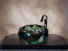 Glass Vessel Sinks, George Bernard, Bernard Shaw, Bath Design, Glass Art, Amusement Parks, Gemstones, Bathroom Remodeling, Mirror